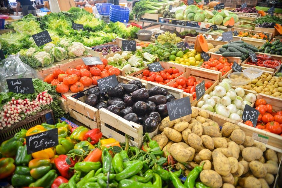 foto veel groenten