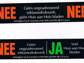 nee nee sticker en nee ja sticker